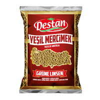 Destan, Yesil mercimek 7mm 800g